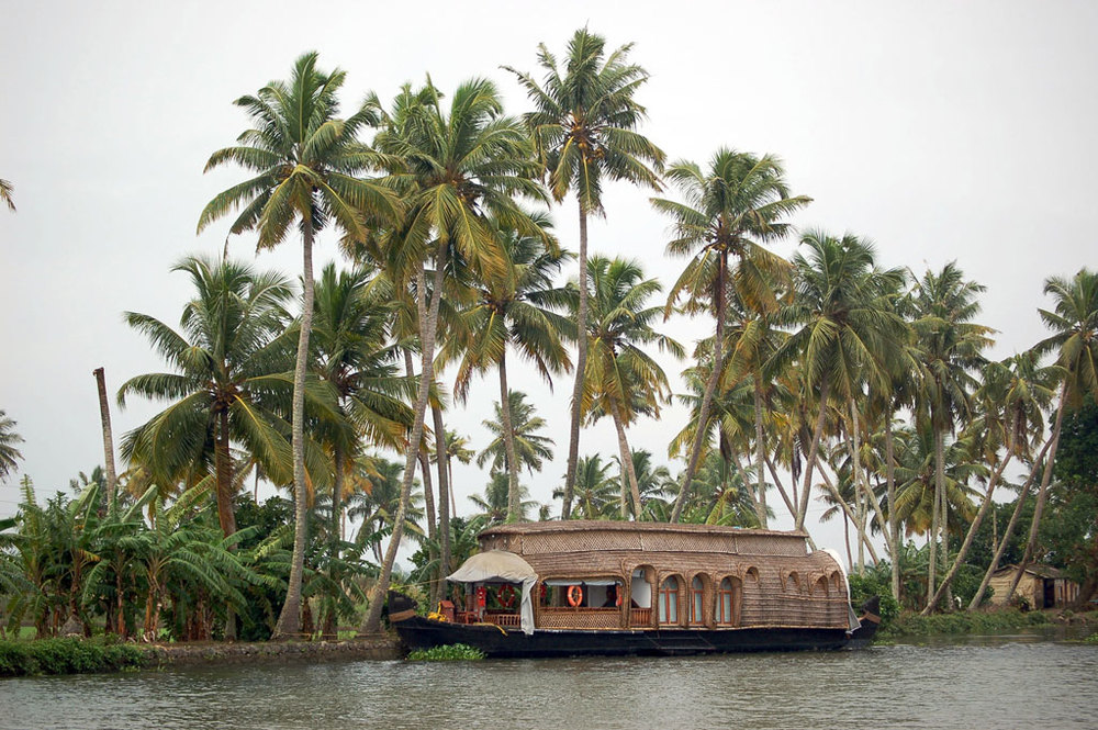 Houseboat on the backwaters   Photo credit:   Upendra Kanda