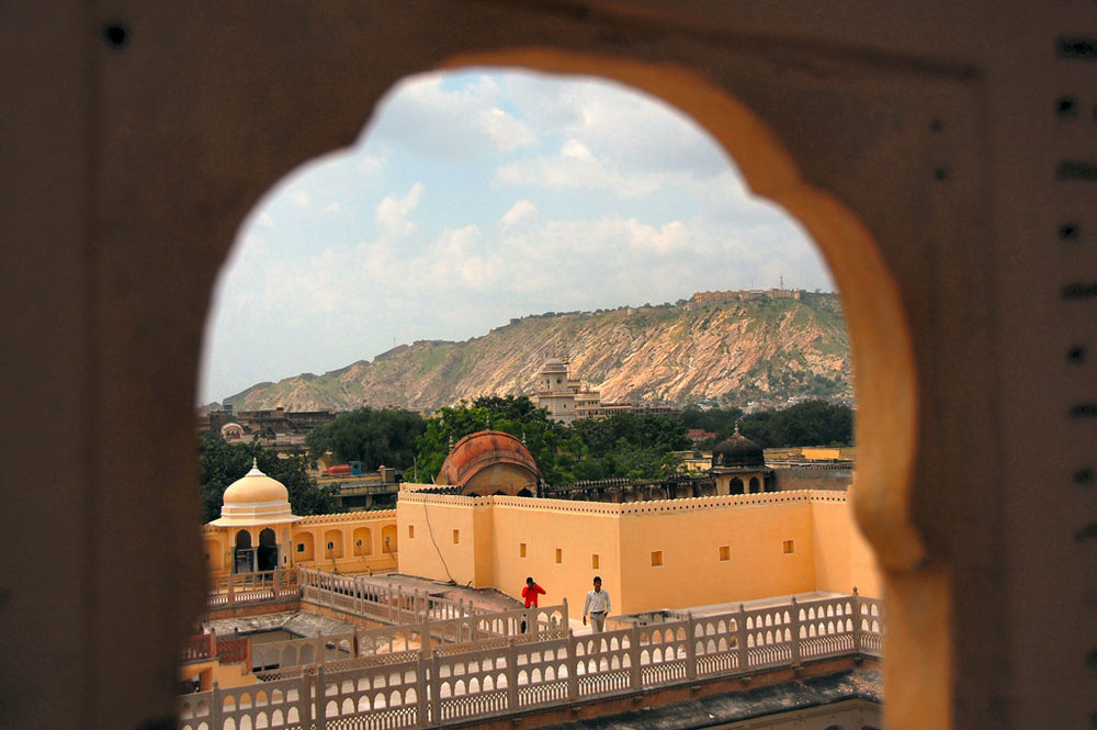 View from the Hawa Mahal, Jaipur Photo credit:  Russ Bowling