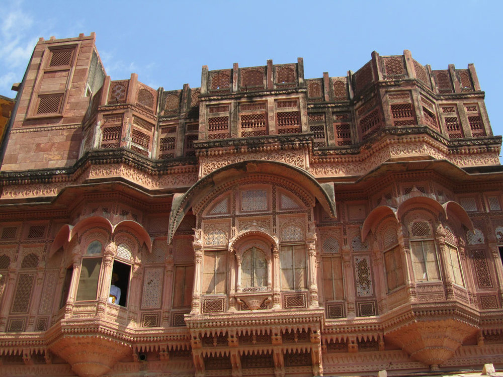 Mehrangarh Fort, Jodhpur Photo credit: Rustom Katrak