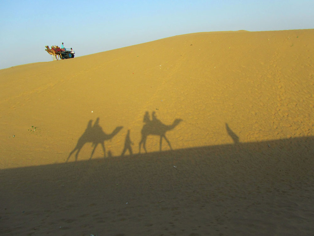 Jaisalmer safari Photo credit: Rustom Katrak