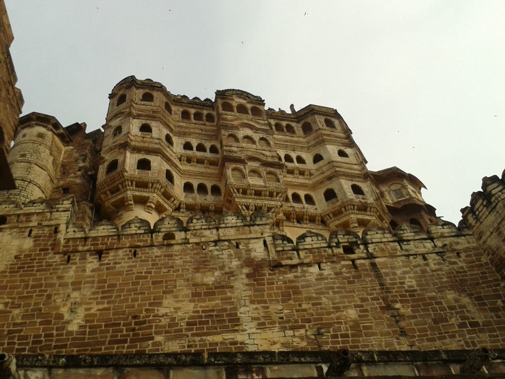 Mehrangarh Fort, Jodhpur Photo credit: Prashant Prakash