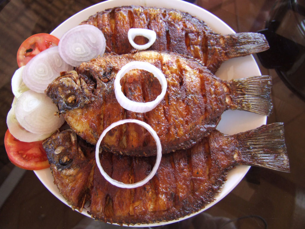 Fresh fried fish Photo credit:  e900