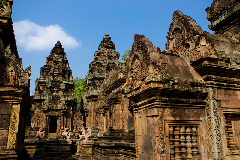 Banteay Srei Photo credit:  Lin Mei