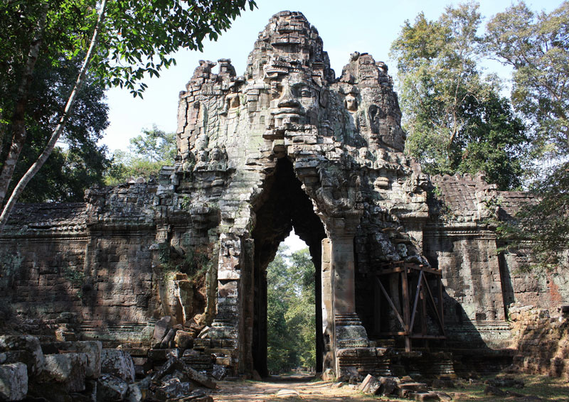 Gateway to Angkor Thom Photo credit:  Christine Zenino