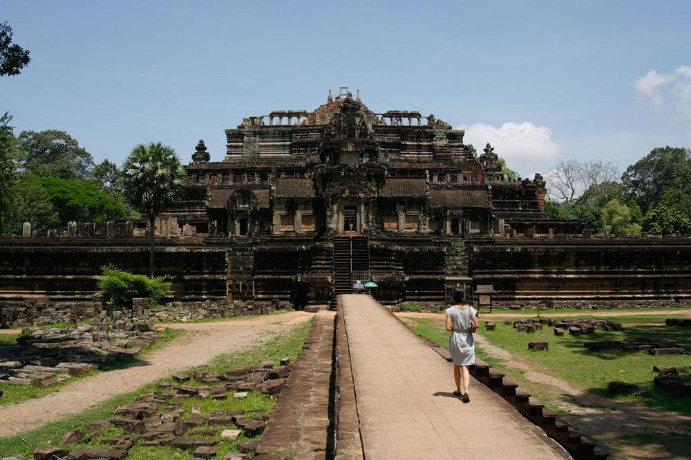 Baphuon Temple   Photo credit:  Tushar Dayal