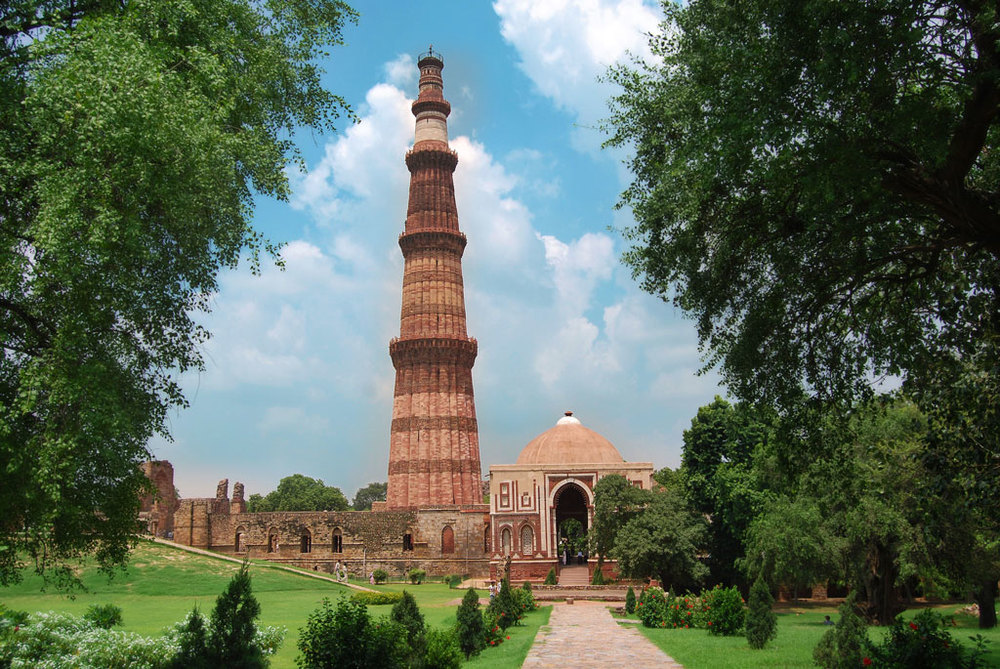 Qutub Minar, Delhi   Photo credit:   Stefan Rüdiger