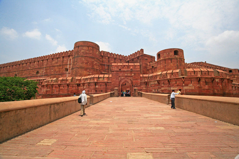 Agra Fort, Agra Photo credit:  LASZLO ILYES