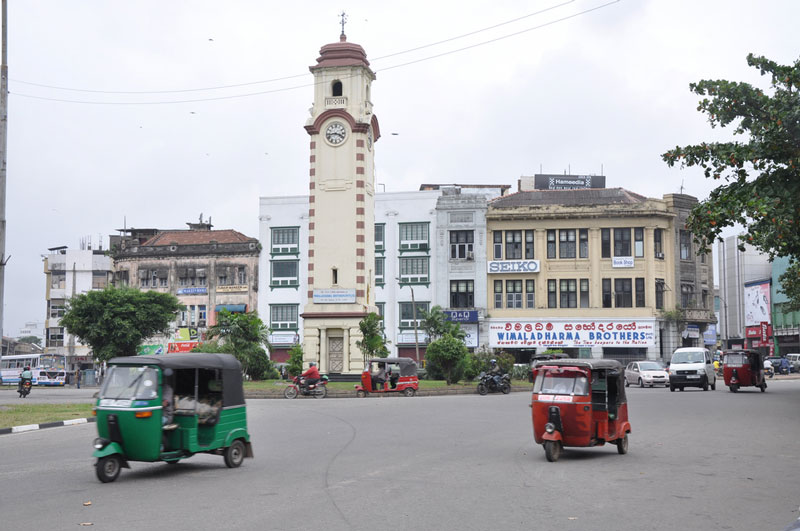 Khan Clock Tower, Colombo Photo credit:   Jorge Láscar
