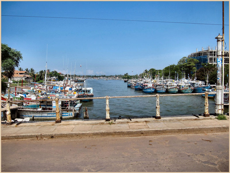Negombo Lagoon Photo credit:  Ronald Saunders