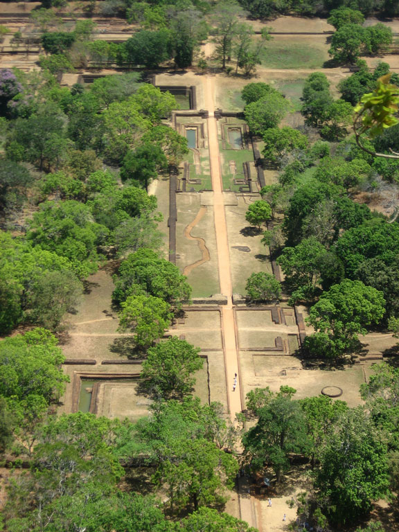The gardens of Sigiriya Photo credit:  Mahesh Kularatne