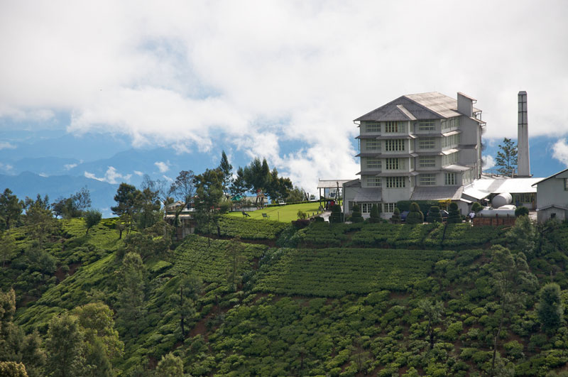 Tea Factory near Nuwara Eliya Photo credit:  Jon Connell