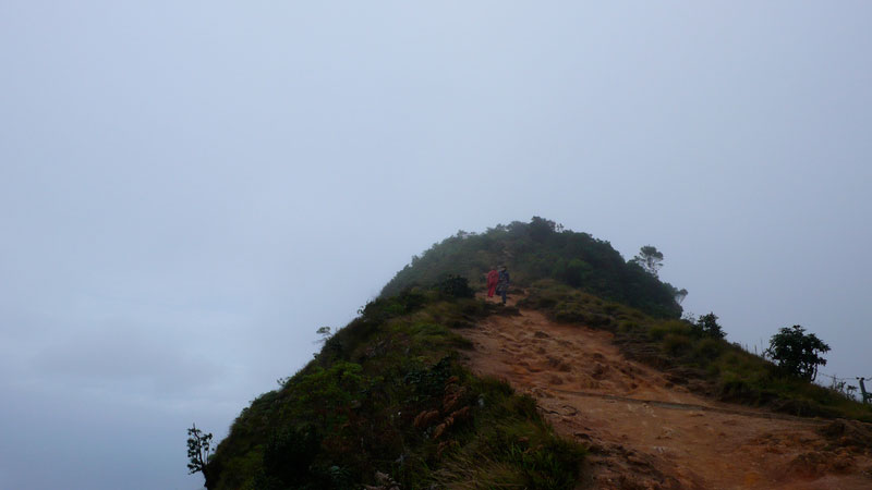 Hill in the clouds at World's End, Nuwara Eliya Photo credit:  Christopher