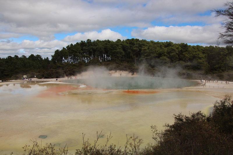 Champagne Pool at Wai-O-Tapu, Rotorua Photo credit:  Takver