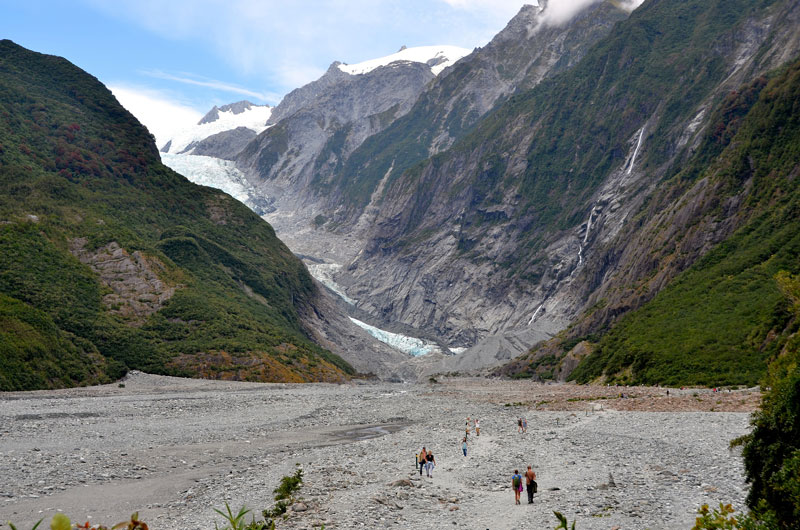 Franz Josef Glacier Photo credit:  Long Zheng