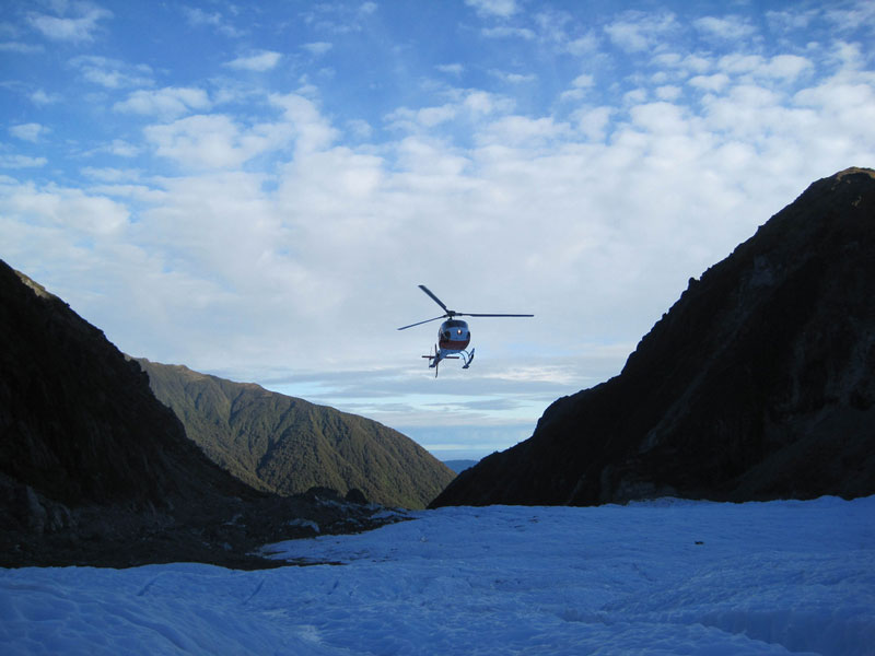 Franz Josef Glacier Photo credit:  Colin Bowern
