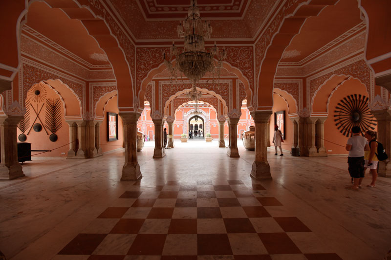 City Palace Museum, Jaipur Photo credit:  Richard Moross