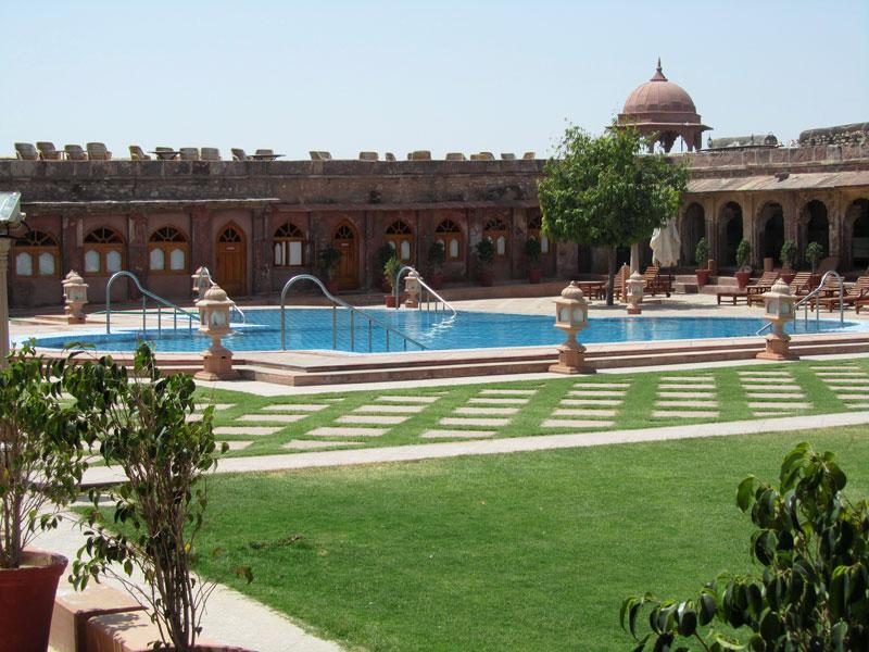 Khimsar Fort, Jodhpur hoto credit: Rustom Katrak
