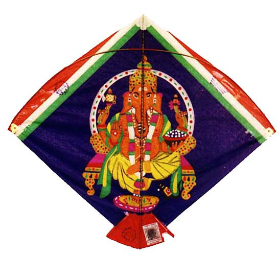 An intricate Ganesha kite by Babu Khan Photo courtesy Ajay Prakash