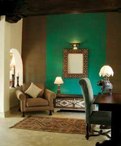 Plush interiors of Mihirgarh