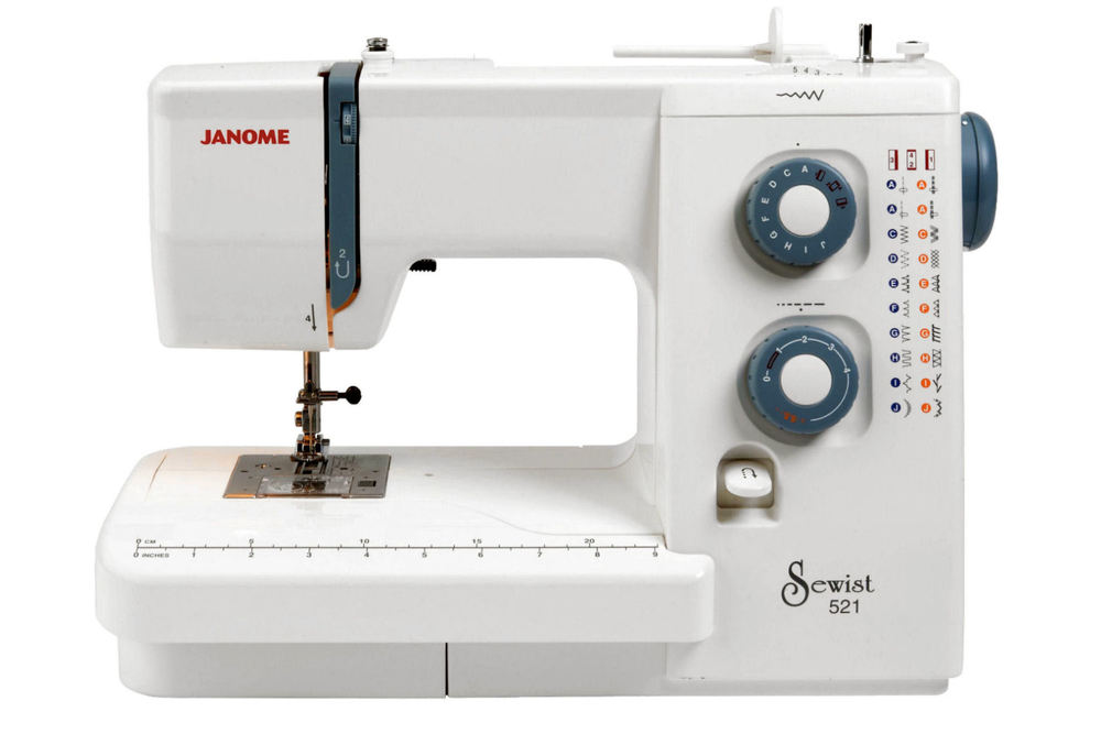 The Janome Sewist 521 Sewing Machine