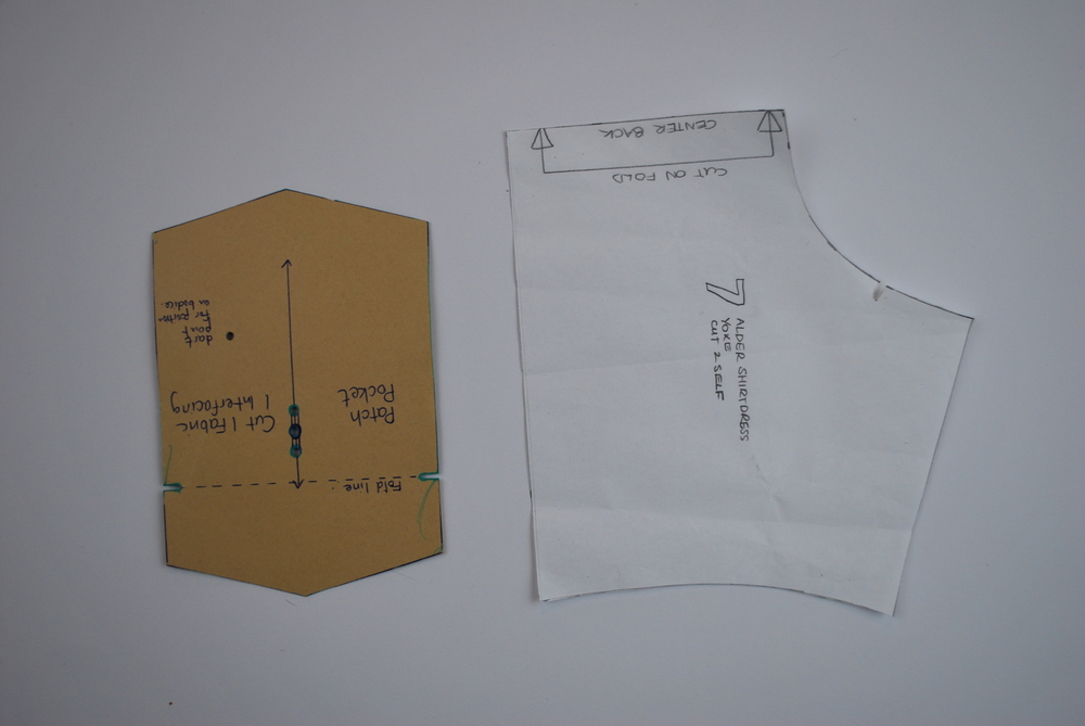 Shoot through - white paper
