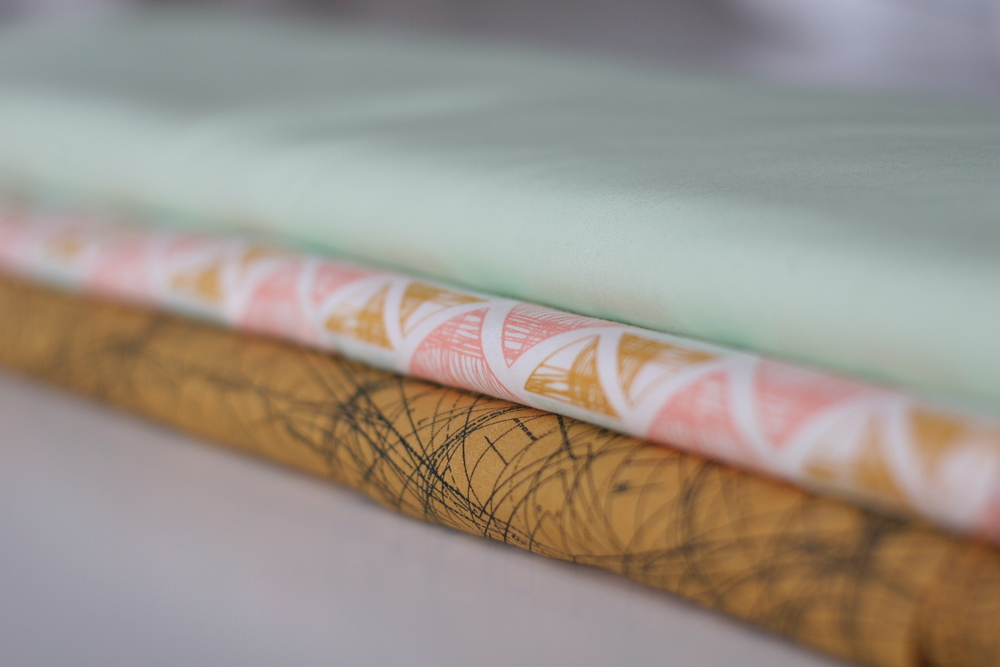 A selection of fabric available at The Stitchery