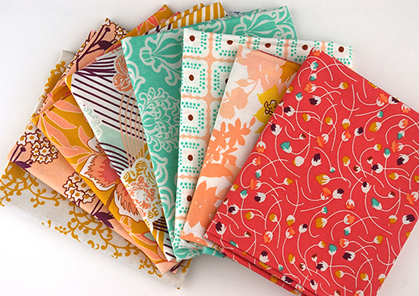 Fat Quarters from the Summerlove Collection by Pat Bravo