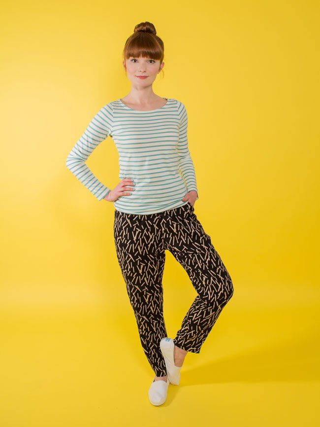 The Marigold Trousers by Tilly & The Buttons