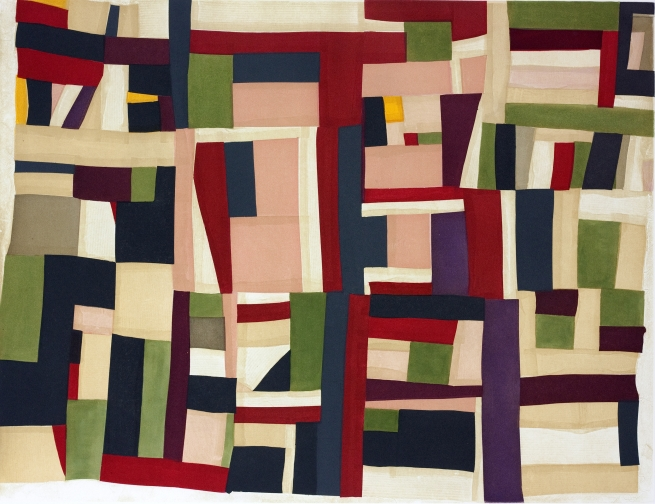 One of my favourite quilts by the Gees Bend Quilters. Image courtesy of Paulson Bott Press.