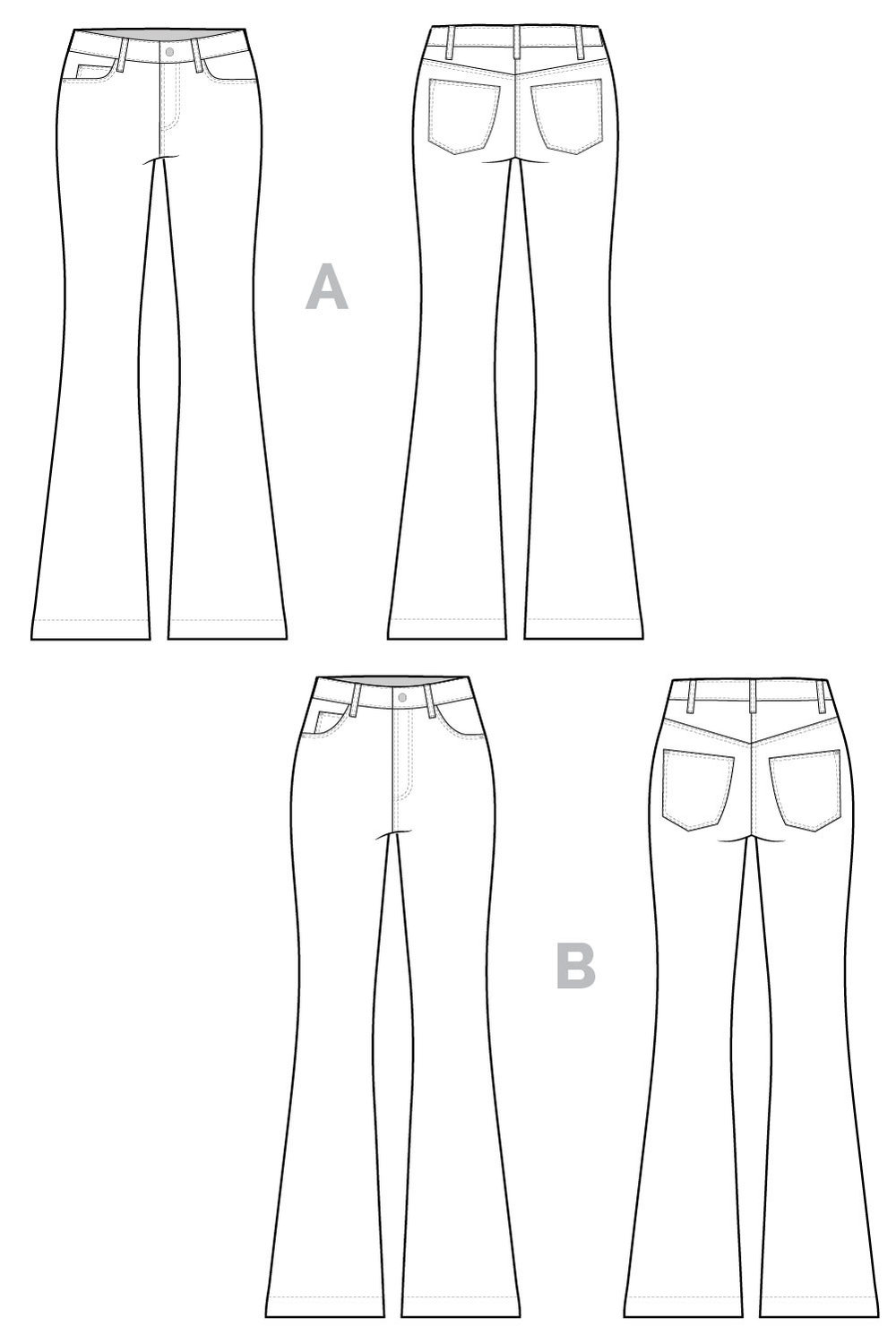 Ginger_Flare_Jeans_pattern_Technical_flats.jpg