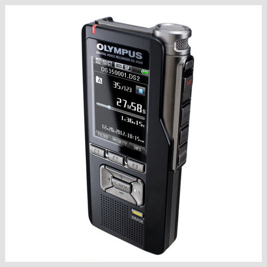 Olympus DS-3500 digital recorder