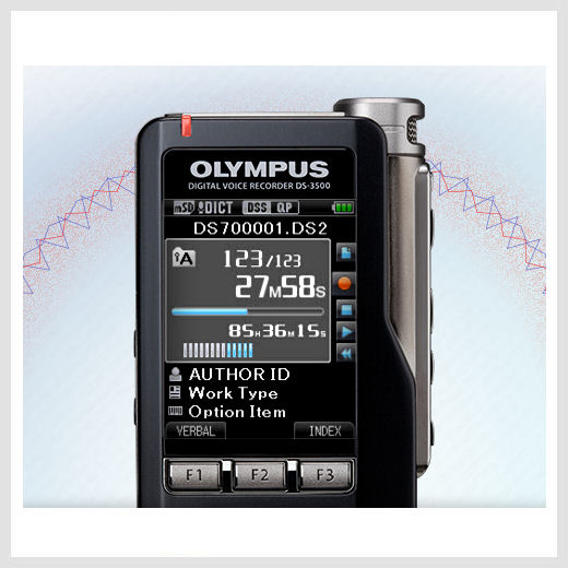 Olympus DS-3500 digital voice recorder