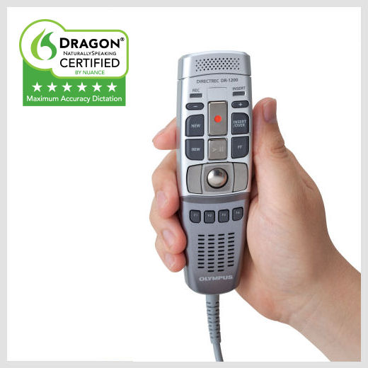 Olympus DR-1200 hand held microphone