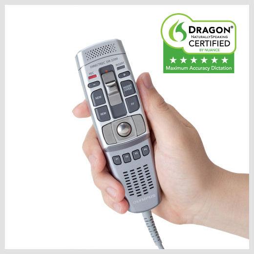 Olympus DR-2200 hand held microphone