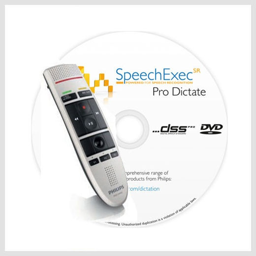 Philips SpeechExec Pro Dictate software
