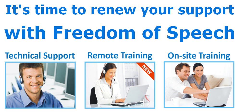 It's time to renew your technical support