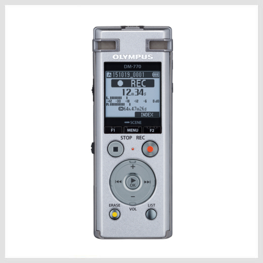 Olympus DM-770 digital recorder