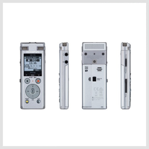 Olympus DM-770 digital recorder preview