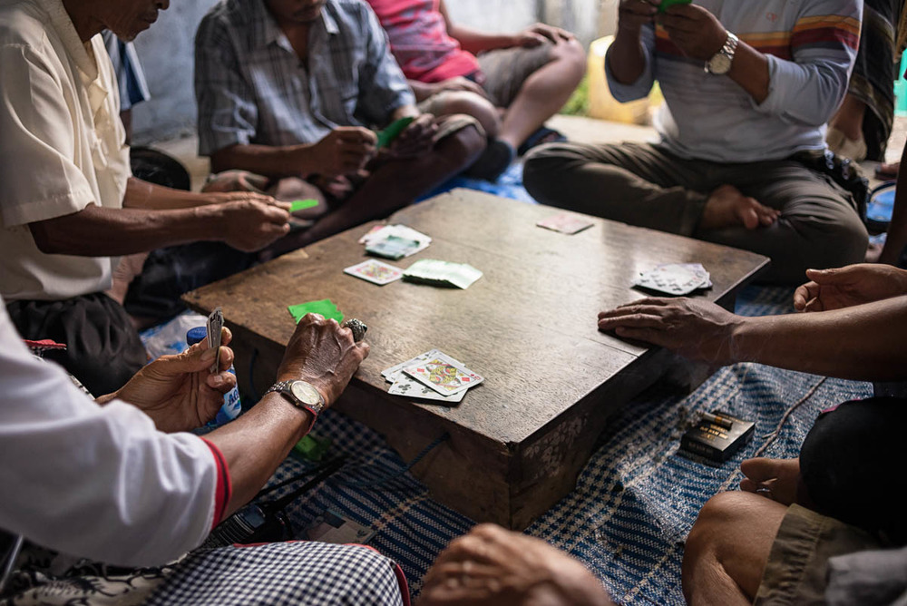 Balinese Ceki card game.