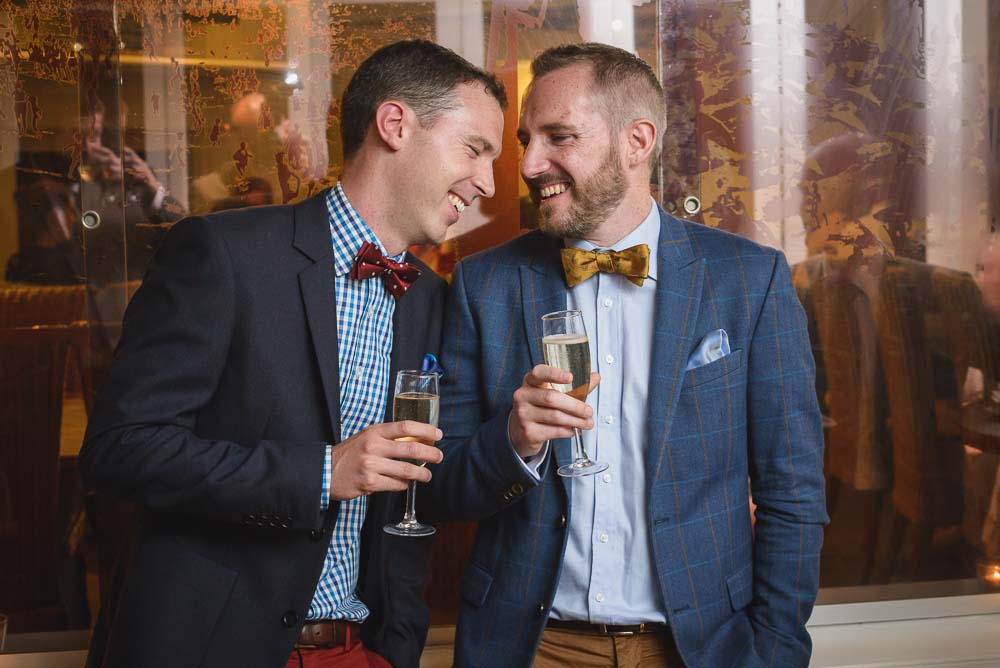 Ollie and Jono / British Consulate Marriage