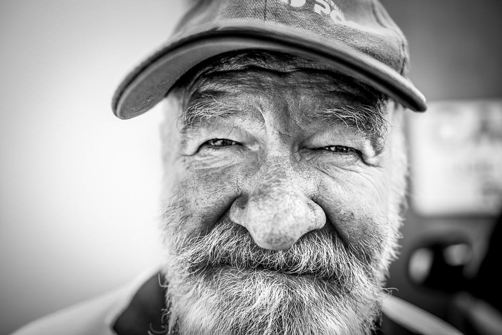 Street portrait, Perth, © Piotrek Ziolkowski