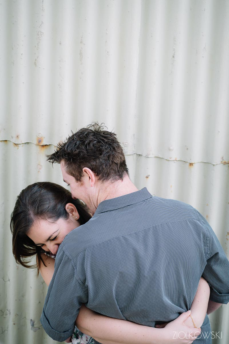 Stephanie and Dale/ pre-wedding session in Fremantle