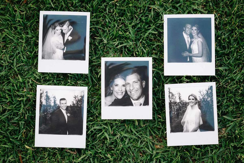 Core Cider House / Wedding Photography with a Polaroid camera.