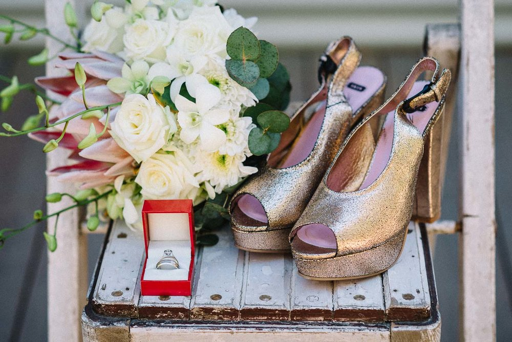 Backyard and relaxed wedding in Yallingup / The wedding details
