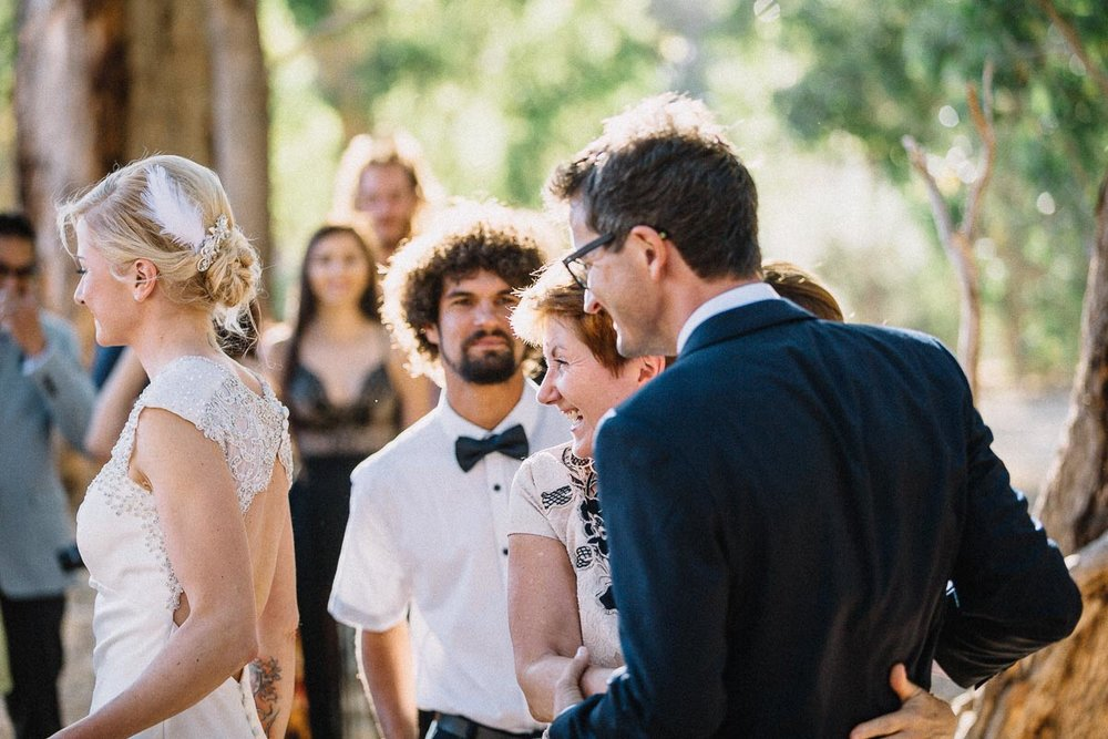 Backyard and relaxed wedding in Yallingup / Aneta and Anthony