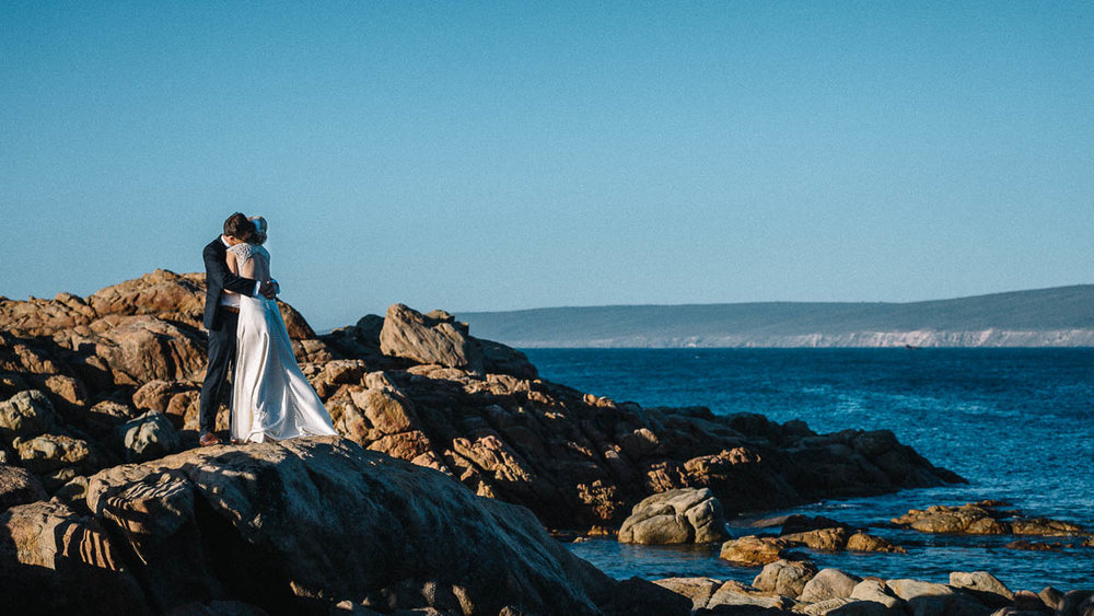 Canal Rocks / Yallingup Wedding Photography