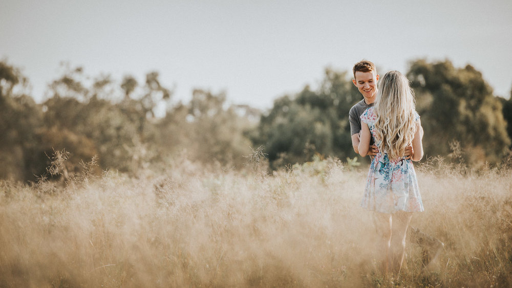 Perth City Beach Engagement Session