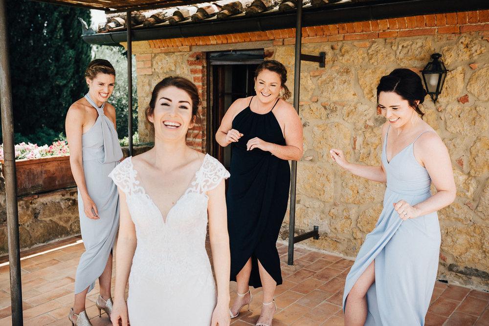 Amazing destination wedding in Tuscany