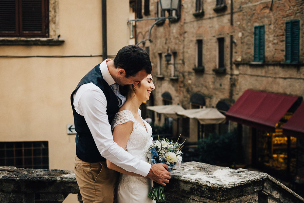 Tuscany Wedding in Pienza / Destination Wedding Photography