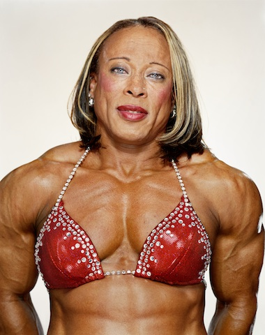 Rosemary Jennings- fabulously muscular. Sorry ladies, but that's not happening for 99.9% of us.